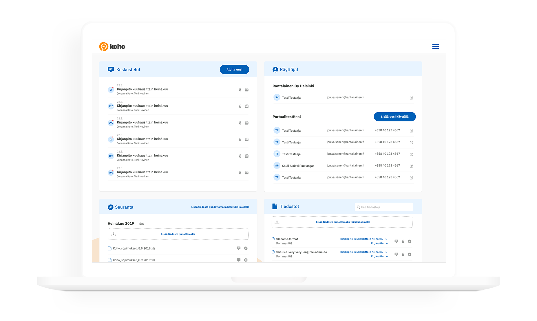 Collaboration Portal outlook