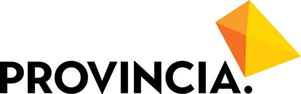 Provincia logo merkillä väri 600px